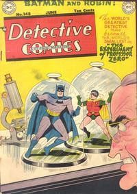 Cover Thumbnail for Detective Comics (DC, 1937 series) #148