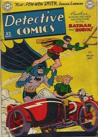 Cover Thumbnail for Detective Comics (DC, 1937 series) #151