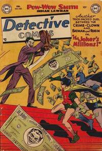 Cover Thumbnail for Detective Comics (DC, 1937 series) #180