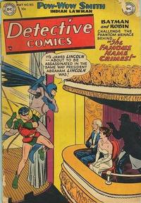 Cover Thumbnail for Detective Comics (DC, 1937 series) #183