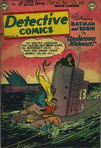 Cover Thumbnail for Detective Comics (DC, 1937 series) #189