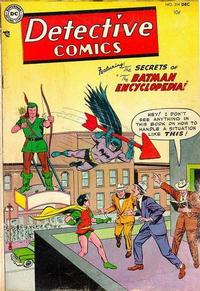 Cover Thumbnail for Detective Comics (DC, 1937 series) #214