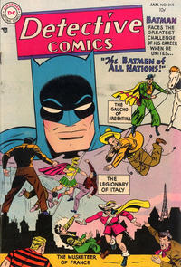 Cover Thumbnail for Detective Comics (DC, 1937 series) #215