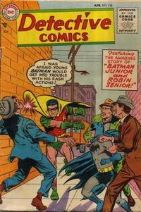 Cover Thumbnail for Detective Comics (DC, 1937 series) #218