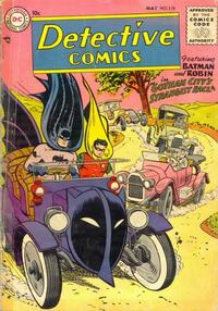 Cover for Detective Comics (DC, 1937 series) #219
