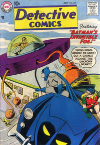 Cover Thumbnail for Detective Comics (DC, 1937 series) #257