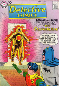 Cover Thumbnail for Detective Comics (DC, 1937 series) #259