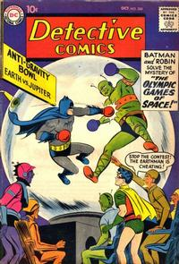 Cover Thumbnail for Detective Comics (DC, 1937 series) #260