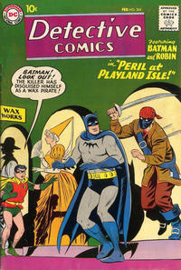 Cover Thumbnail for Detective Comics (DC, 1937 series) #264