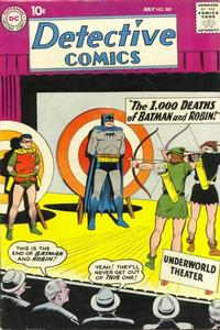 Cover Thumbnail for Detective Comics (DC, 1937 series) #269