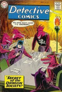 Cover Thumbnail for Detective Comics (DC, 1937 series) #273