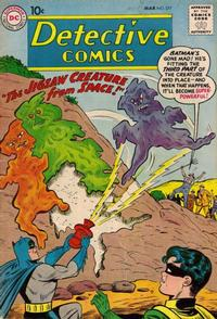 Cover Thumbnail for Detective Comics (DC, 1937 series) #277