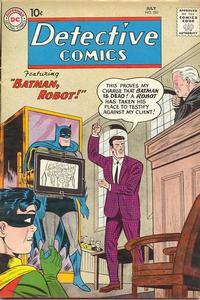 Cover Thumbnail for Detective Comics (DC, 1937 series) #281
