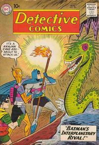 Cover Thumbnail for Detective Comics (DC, 1937 series) #282