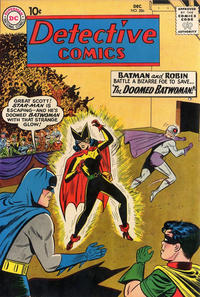 Cover Thumbnail for Detective Comics (DC, 1937 series) #286