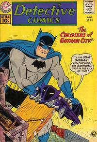 Cover Thumbnail for Detective Comics (DC, 1937 series) #292