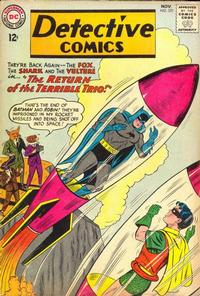 Cover Thumbnail for Detective Comics (DC, 1937 series) #321