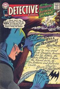 Cover Thumbnail for Detective Comics (DC, 1937 series) #366