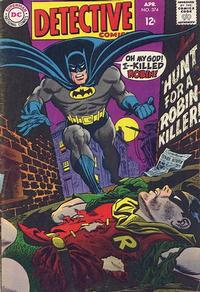 Cover Thumbnail for Detective Comics (DC, 1937 series) #374