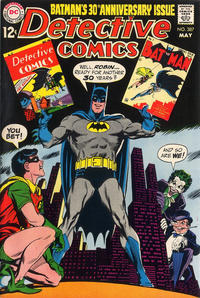 Cover Thumbnail for Detective Comics (DC, 1937 series) #387
