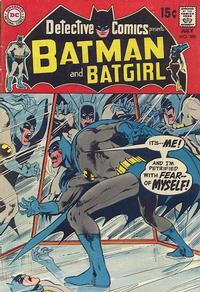 Cover Thumbnail for Detective Comics (DC, 1937 series) #389