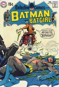 Cover Thumbnail for Detective Comics (DC, 1937 series) #396