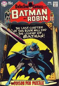 Cover Thumbnail for Detective Comics (DC, 1937 series) #398