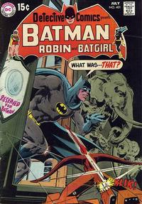Cover Thumbnail for Detective Comics (DC, 1937 series) #401