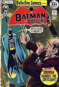 Cover Thumbnail for Detective Comics (DC, 1937 series) #415