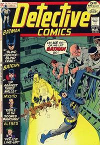 Cover Thumbnail for Detective Comics (DC, 1937 series) #421
