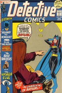 Cover Thumbnail for Detective Comics (DC, 1937 series) #422