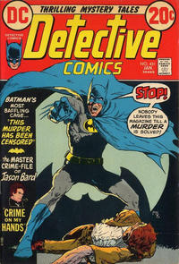 Cover Thumbnail for Detective Comics (DC, 1937 series) #431