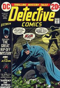 Cover Thumbnail for Detective Comics (DC, 1937 series) #432