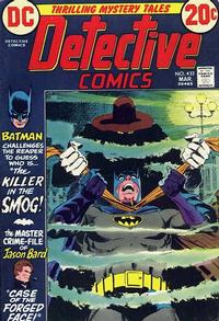 Cover Thumbnail for Detective Comics (DC, 1937 series) #433