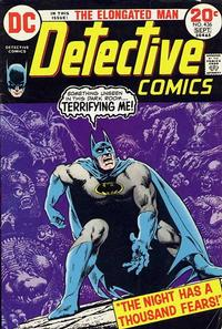 Cover Thumbnail for Detective Comics (DC, 1937 series) #436