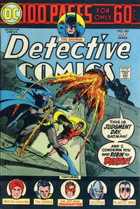 Cover Thumbnail for Detective Comics (DC, 1937 series) #441