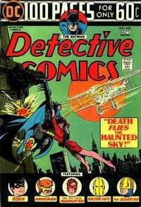 Cover Thumbnail for Detective Comics (DC, 1937 series) #442