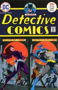 Cover Thumbnail for Detective Comics (DC, 1937 series) #448