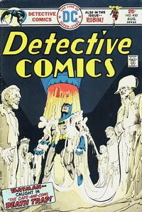 Cover Thumbnail for Detective Comics (DC, 1937 series) #450