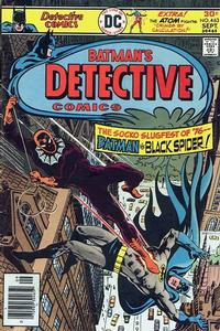 Cover Thumbnail for Detective Comics (DC, 1937 series) #463