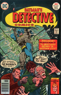 Cover Thumbnail for Detective Comics (DC, 1937 series) #465