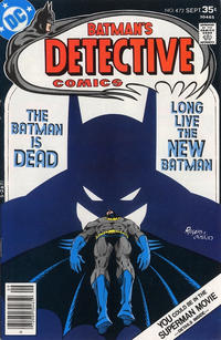 Cover Thumbnail for Detective Comics (DC, 1937 series) #472