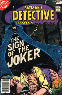 Cover Thumbnail for Detective Comics (DC, 1937 series) #476