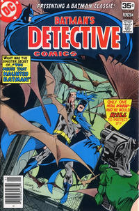 Cover Thumbnail for Detective Comics (DC, 1937 series) #477