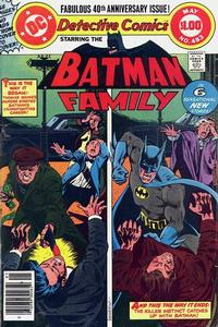 Cover Thumbnail for Detective Comics (DC, 1937 series) #483
