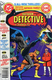 Cover Thumbnail for Detective Comics (DC, 1937 series) #485