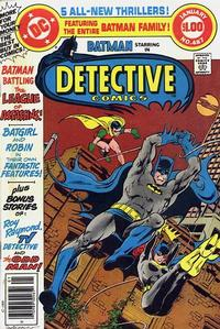 Cover Thumbnail for Detective Comics (DC, 1937 series) #487