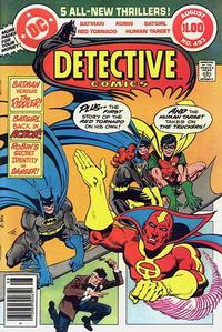 Cover Thumbnail for Detective Comics (DC, 1937 series) #493