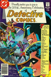 Cover for Detective Comics (DC, 1937 series) #500