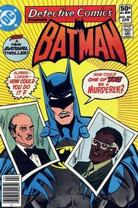 Cover Thumbnail for Detective Comics (DC, 1937 series) #501 [Newsstand]